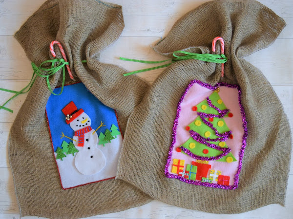 DIY Christmas Craft | Christmas Sack Stocking