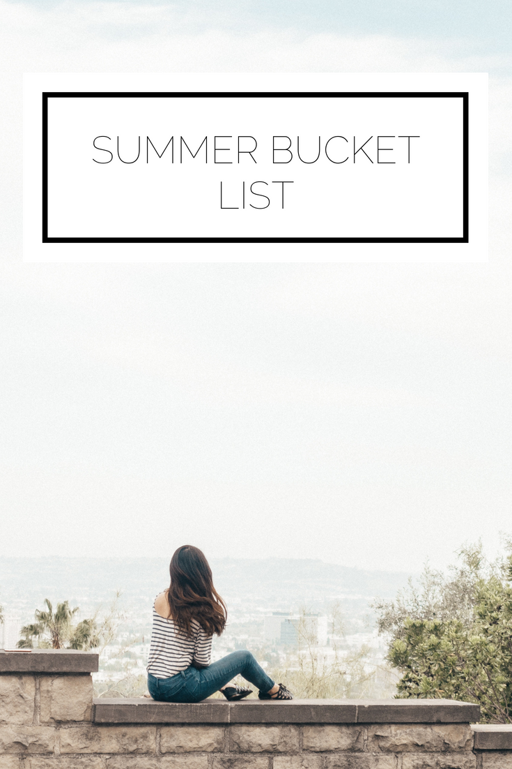 Click to read now or pin to save for later! Now that summer it here, it's the perfect time to make a bucket list. Check out my list for inspiration