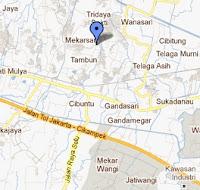Peta Tulipware SC. Tambun Bekasi