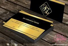 Design dan Cetak Kad Nama Siti Zurianah Ismail