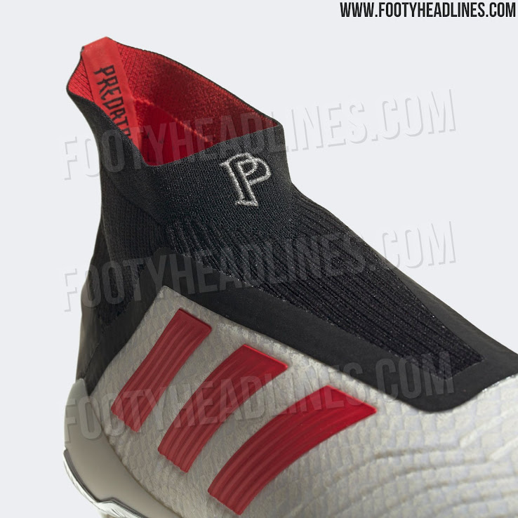 275155ba9dad The first pictures of the on-pitch Adidas Predator 19+ Paul Pogba Season 5  boots have been leaked, revealing a very classy look in white, silver, black  and ...