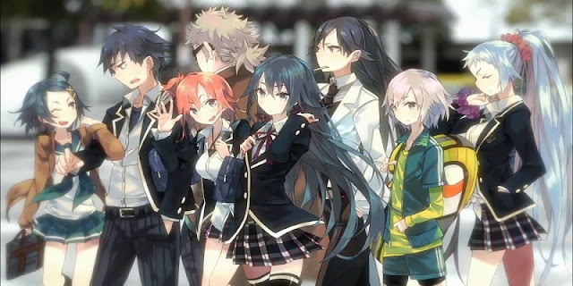Yahari Ore no Seishun Love Comedy wa Machigatteiru (2013)