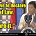 WATCH: Duterte, idedeklara ang Martial Law kung kailangan