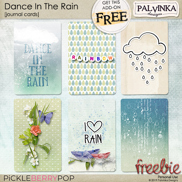 New Berry Big Deal - Dance In The Rain Collection and Freebie
