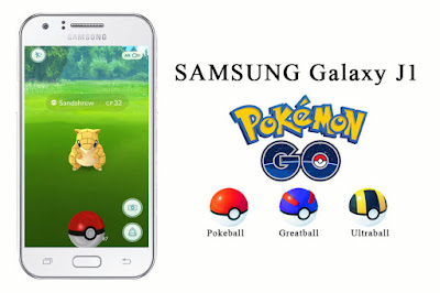 Cara Main Pokemon Go di Samsung Galaxy J1