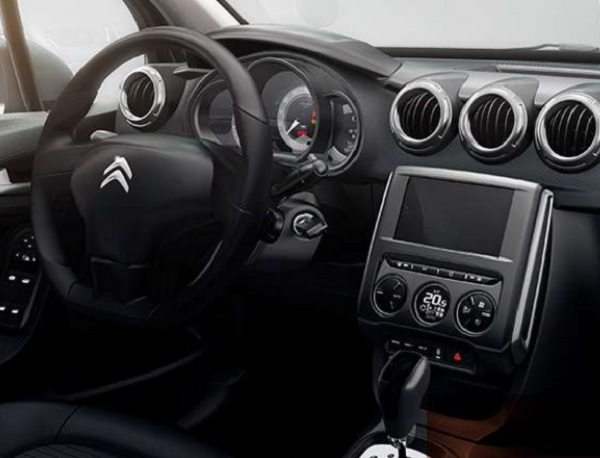 Interior Citroën C3 Urban Trail