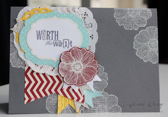 So Worth The Wait Card. Susan Wong