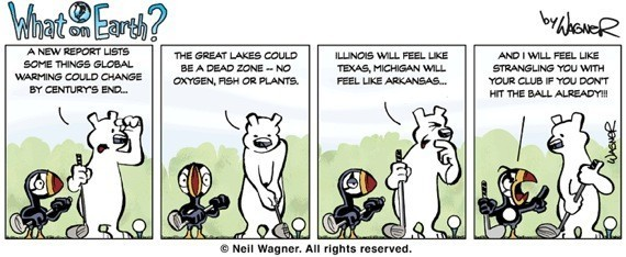 What's Really Going On?: Environmental Comics