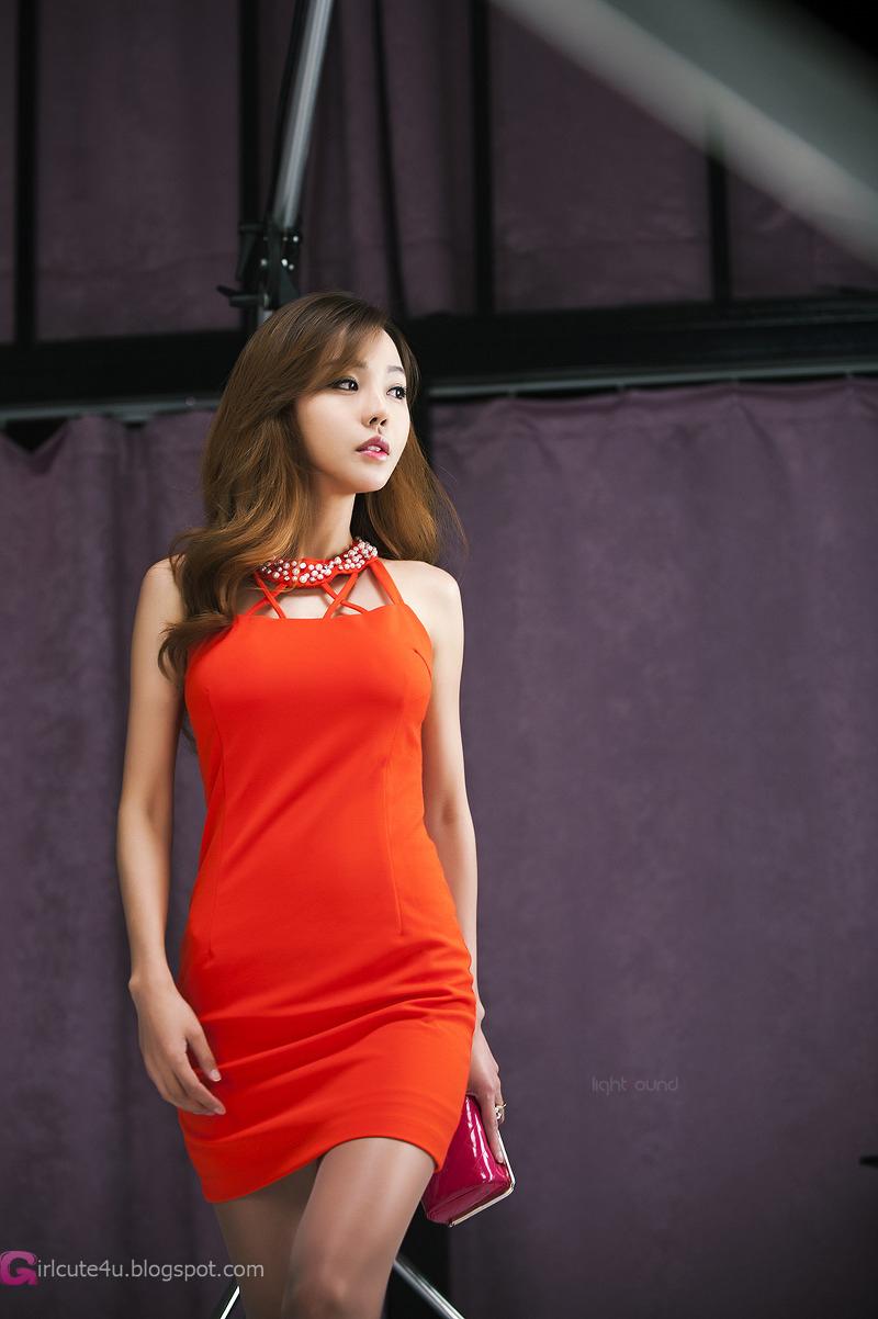 Xxx Nude Girls Seo Jin Ah In Orange Mini Dress-6263