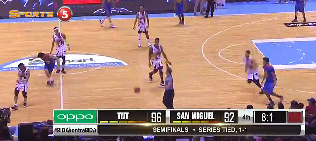 TNT def. San Miguel, 98-92 (REPLAY VIDEO) Semis Game 3 / February 12