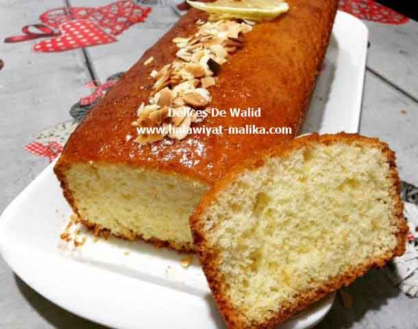 Cake au citron  كيك بالليمون روعة