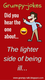 Jokes - the lighter side of being ill