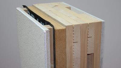 parete in legno xlam