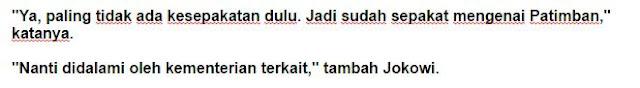 Presiden Republik Indonesia Ir.H. Joko widodo : Indonesia-Jepang Sepakat Bangun Pelabuhan Patimban di Subang - Commando