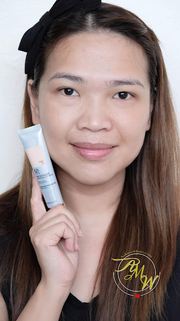 a photo of The Body Shop Fresh Nude Tinted Beauty Balm Review by Nikki Tiu of askmewhats.com