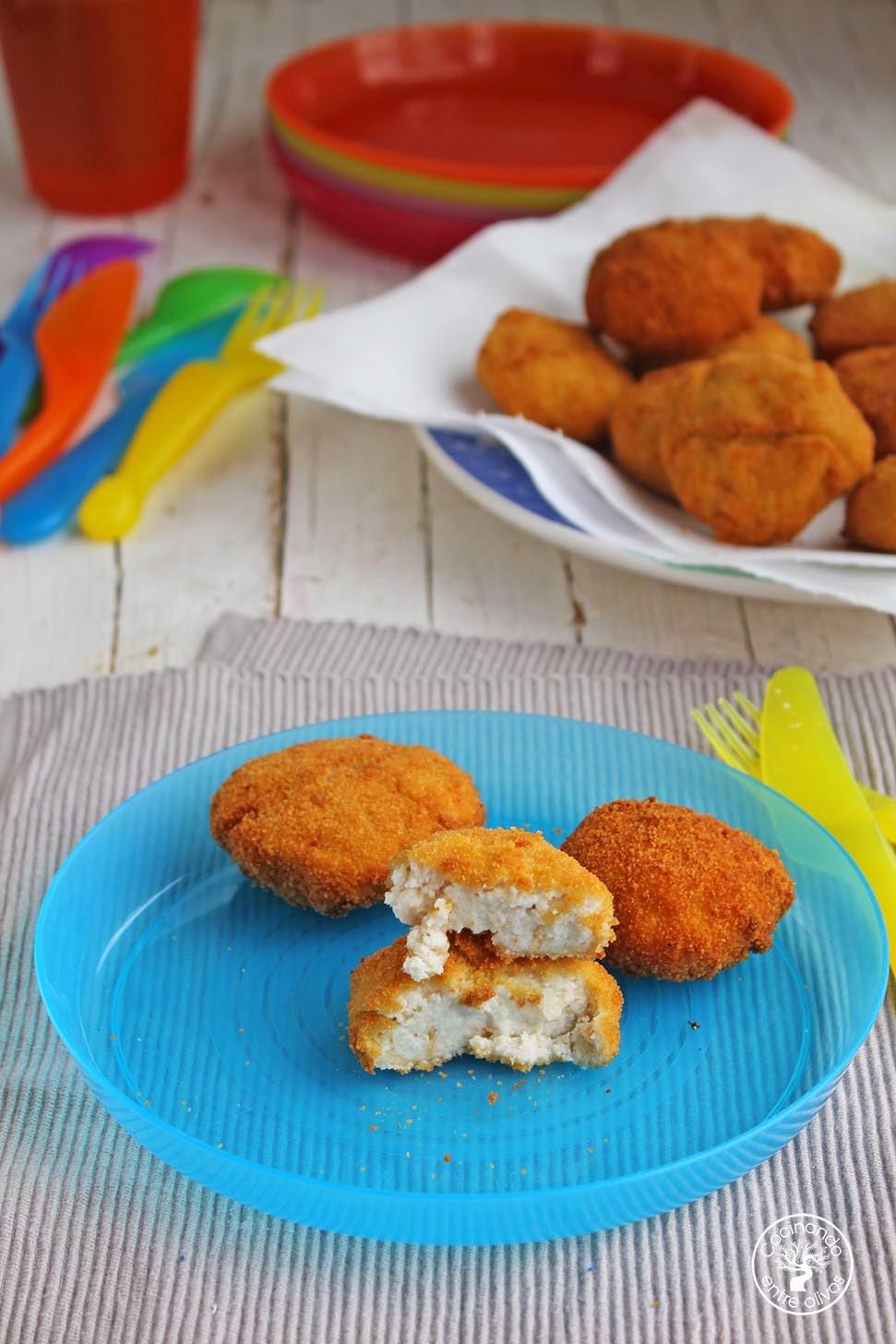 Nuggets De Pescado Caseros Para Niños Receta Paso A Paso Cocinando Entre Olivos