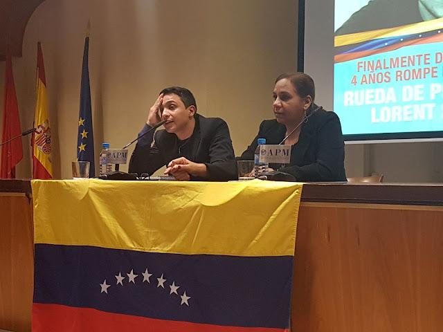 Lorent Saleh acusó a Katherine Harrington de dirigir torturas en La Tumba