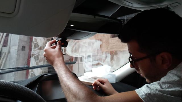 كيف تركب كميرا مراقبة للسيارة بنفسك عوض دفع تكاليف تتبيثها  ب 19 دولار (200 درهم )  فقط !