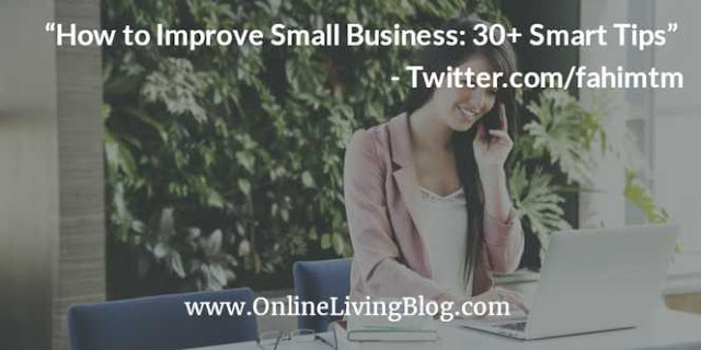 How to Improve Small Business