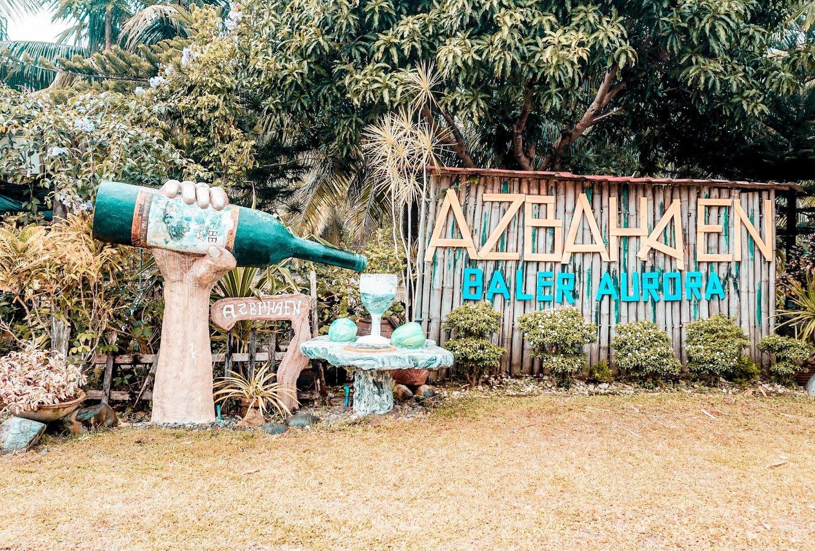 baler tourist spots, baler aurora tourist spot, itinerary in baler aurora