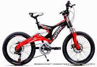 Sepeda Gunung Pacific Nitron 6 Speed Shimano 20 Inci