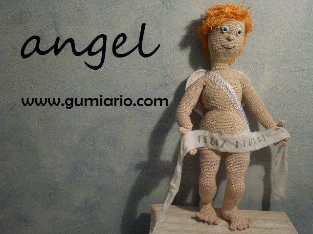 christmas angel amigurumi