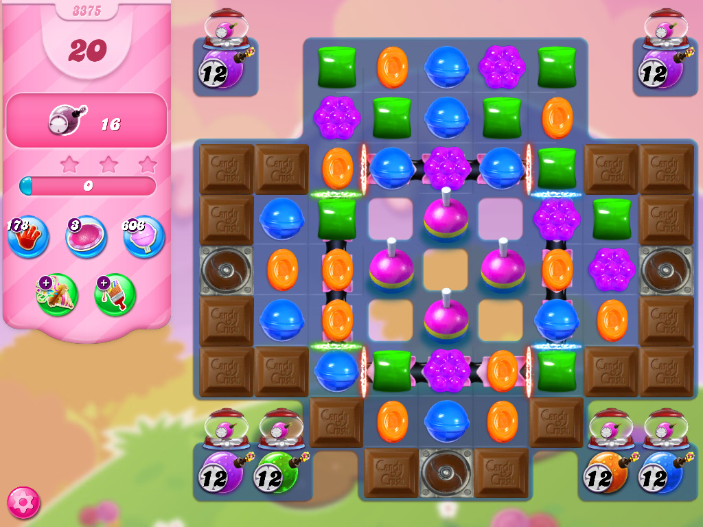 Candy Crush Saga level 3375