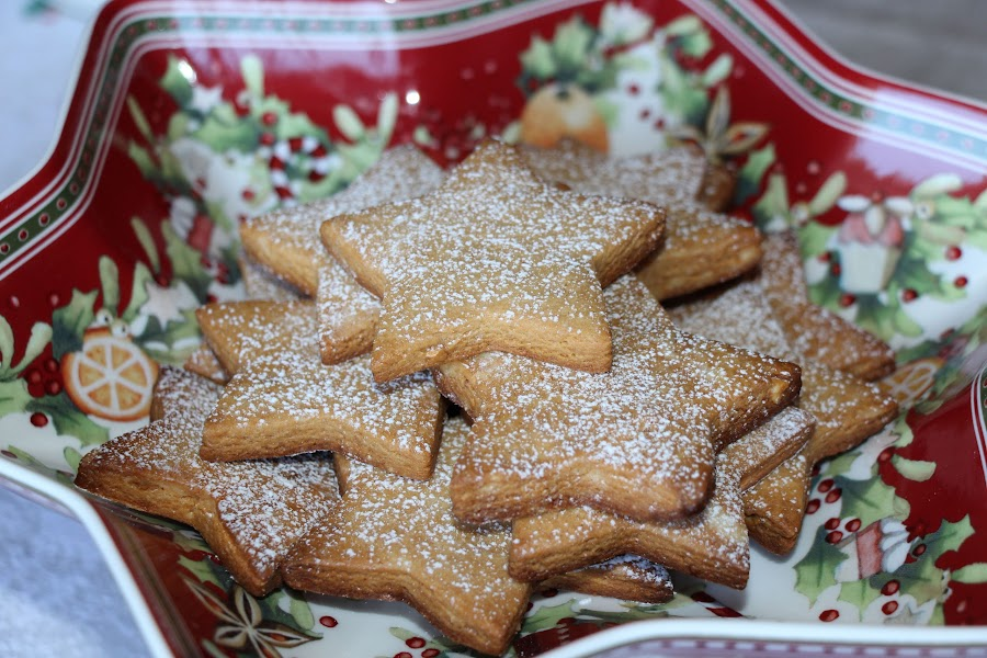galletas de turron estrella