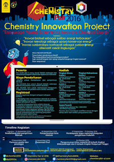 Chemistry Innovation Project 2016 Lomba Karya Tulis Universitas Indonesia (DL September 2016)