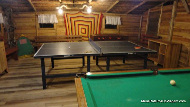 Sala de jogos - Serra Bela Hospedaria Rural - Urubici/SC