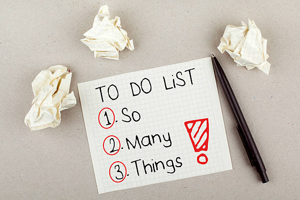 Risultati immagini per to do list so many thing