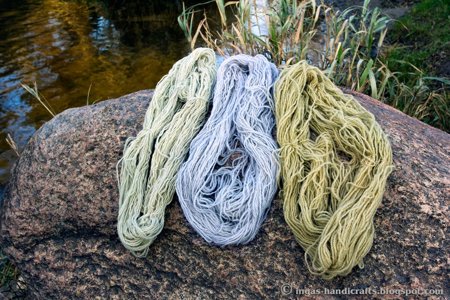 värvitud punase kapsaga / Natural Dyes red cabbage
