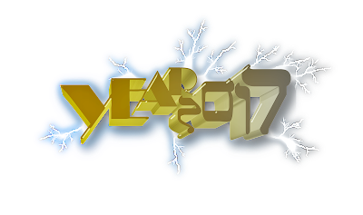 2017 Happy New Year Transparent Pictures