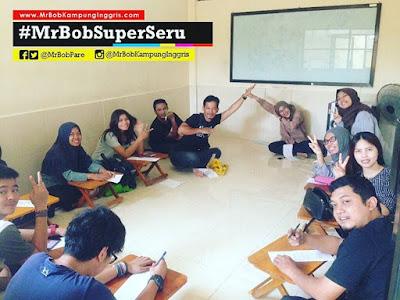 kelas speak up 1, mrbob kampung inggris, kampung inggris