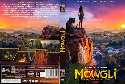 CARATULA - [COVER NETFLIX] MOWGLI - 2018