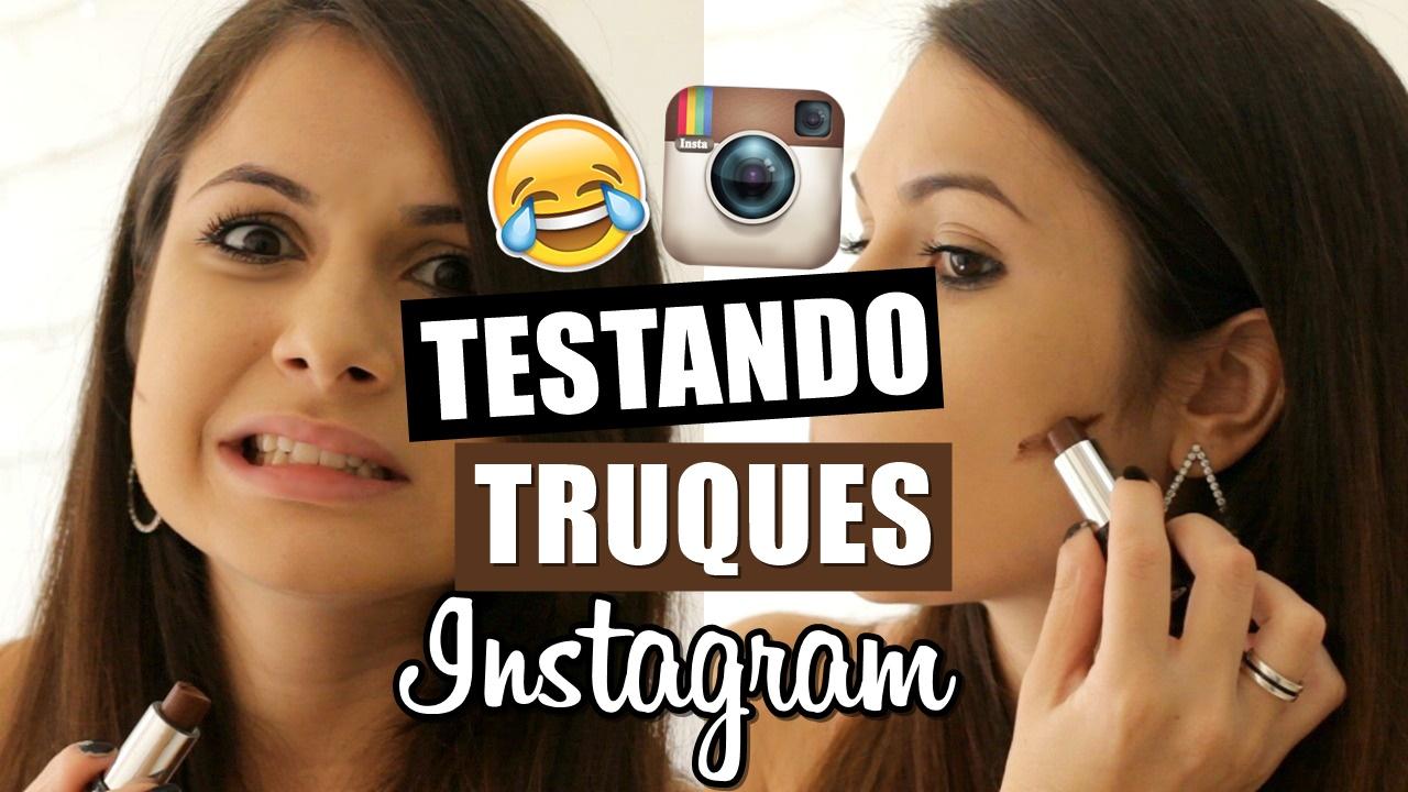 truques, beleza, instagram