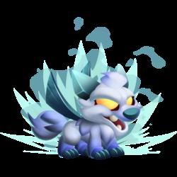 High Snow Dragon (Baby)