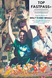Dicas de atrações para seu FastPass+ da DisneyWorld, Orlando