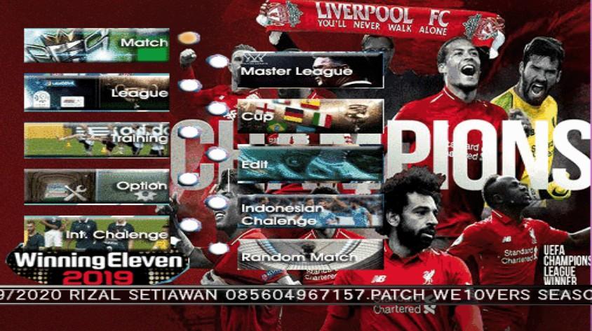 Winning Eleven 2020 PS2 Shopee Liga 1 Indonesa Season 2019/2020