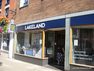Lakeland store front in Stratford-upon-Avon