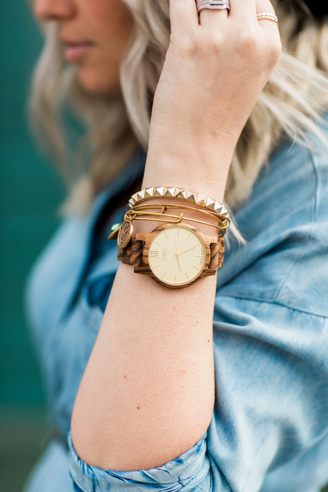 JORD Wood Watch, Utah Fashion Blogger, Wood Watch