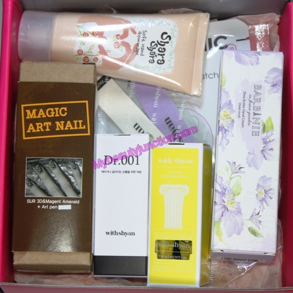 Memebox Hand and Nail Care special review, unboxing