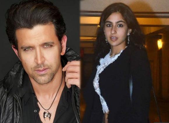 Hrithik Roshan and Sara Ali Khan romance