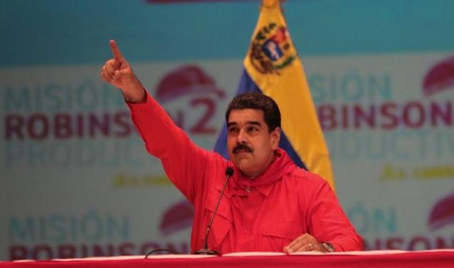 Maduro ordena cierre de frontera con Brasil