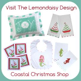 Lemon Daisy Coastal Christmas
