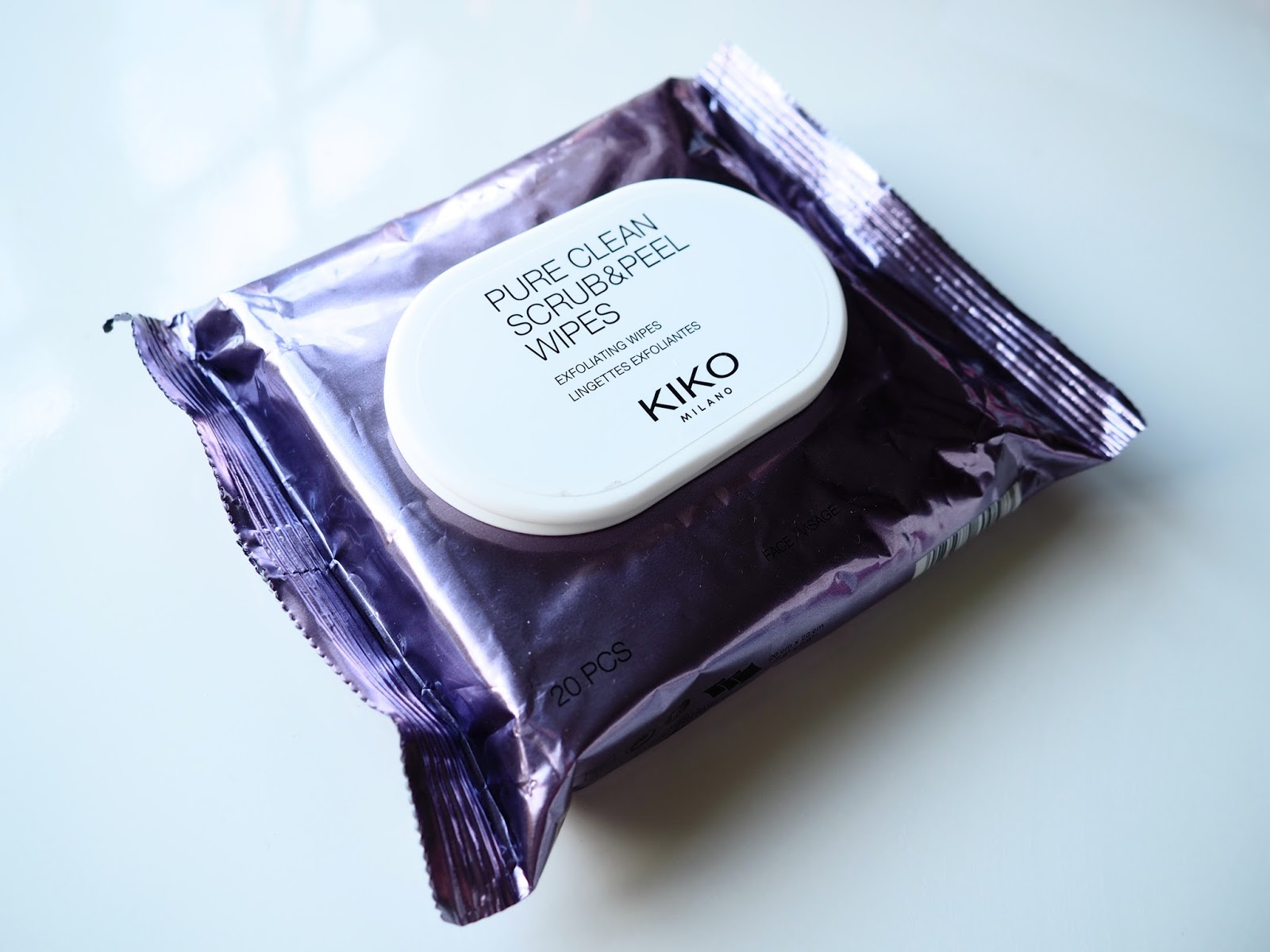 It's Cultured Kiko Haul Kiko Pure Clean Scrub and Peel Exfoliating Wipes