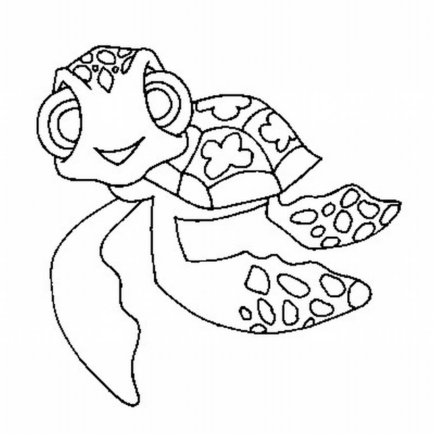 Cute Baby Turtle Coloring Pages  Free Download Printable Coloring