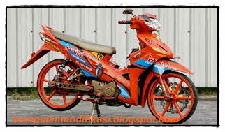 Modifikasi Honda Revo.