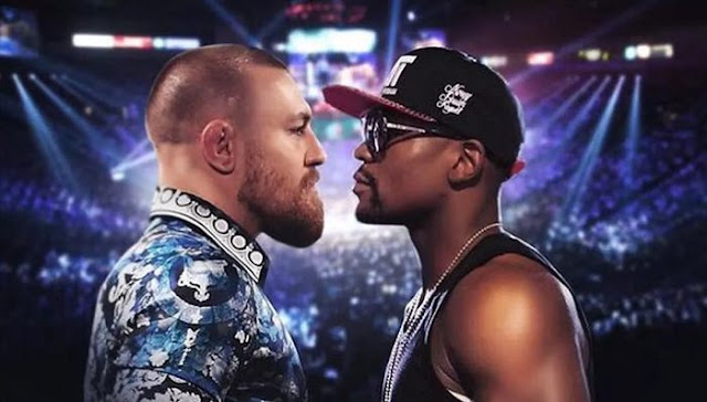 conor mcgregor vs floyd mayweather live fight