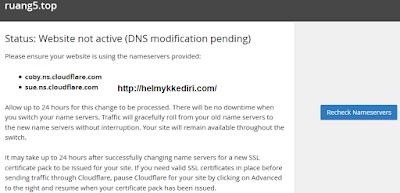 Cara Pasang SSL pada Domain diblogger5